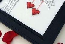 DIY Valentinstag / DIY Ideen für den Valentinstag .... Deko für den Valentinstag, Geschenke für den Valentinstag