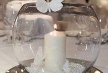 Wedding Decor / Ideas de decoración para celebrar bodas