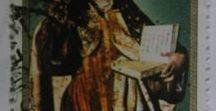 Filatelia - Philately - Motivos religioso / Sellos de España - Temas religiosos. Stamps of Spain - Religious subjects.