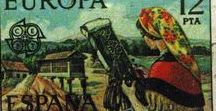 Filatelia - Philately - Europa / Sellos de España. Tema: Europa. Stamps of Spain. Theme: Europe
