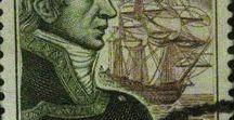 Filatelia - Philately - Personajes históricos / Sellos de España - Personajes Históricos. Stamps of Spain - Historical Characters