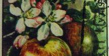 Philately - Filatelia - Flora / Sellos de España - Tema - Flora. Stamps of Spain - Theme - Flora.