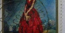 Filatelia - Philately - Pintura / Sellos de España - Tema: Pintores y sus obras . Stamps of Spain - Theme: Painters and their works