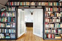 bookshelves / by Stephanie @ The Fête Blog