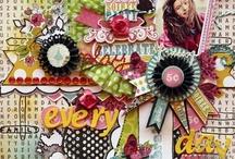 Paper Scrapbooking Fav / Inspirational layouts