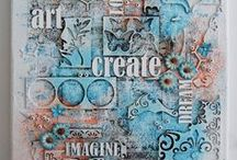 Project Aart Mixed Media / by Teri S