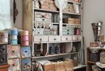 Creative Organization / Some of the neatest organization ideas I've seen to date!