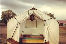 forts/tents/yurts / by Maleka Fruean