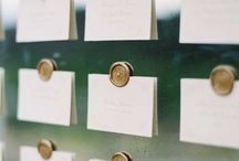 WEDDING PLACE CARDS / Wedding place cards. Featuring beautiful, chic, and luxe designs, ideas and inspiration!