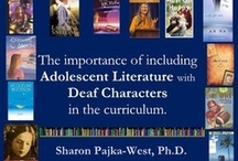 Deaf Literature / Stories, poems, and books with Deaf character and/or written by Deaf or hard of hearing authors / by Alex Roman