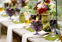 Tablescapes / Table styling for weddings, parties, dinners, and more... / by Stephanie @ The Fête Blog