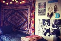 H&M / Sister bedroom, girls room decor, ideas, indie boho