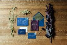 Invitations & Stationery / Bespoke invitations, lovely and artistic papers.