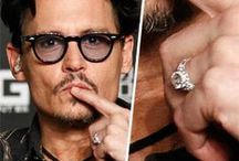 Men's Engagement Rings / As demonstrated recently by Johnny Depp, a stunning engagement ring isn't just for her! At H.Samuel we have a wonderful selection of engagement rings for men that will guarantee they'll be saying 'Yes!'