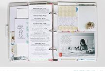 ** Project Life Inspiration ** / Project Life scrapbook page inspiration