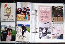 MY project life pages / 6x8 handbook project life scrapbook layouts