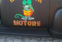 Cars | Hot Rods {Rat Fink} / by Lexi Roeder