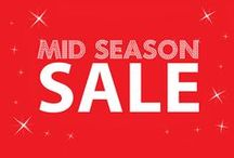 SS15 Mid Season Sale Top Picks / Treat yourself or a loved one to something fabulous for less as part of our fantastic mid season sale!