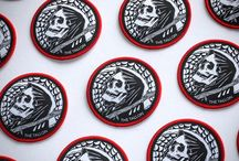 THE TALLON PINS & PATCHES / Designed by tattooist Jean Le Roux (Unless stated otherwise)  All available online at: www.thetallon.com