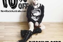 New Rock Models | Alt Fashion / Craving a hit of dark fashion? Check out the latest boots at NewRockAustralia.com