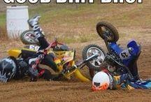 Motorbike crashes