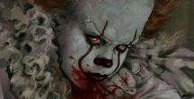 IT / Clown Pennywise is one of the most beautiful and scariest creatures I have ever seen.