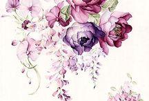 Encanto Floral / Inspiração de arte para convite wedding / birthday