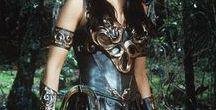 XENA : WARRIOR PRINCESS / Lucy Lawless as Xena Warrior Princess