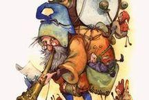 Duendes, Gnomos, Elfos y Leprechauns
