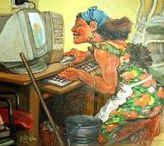 Computadores... Antiguos y Modernos / Imágenes que contengan desde un PC a un Mainframe. Los celulares se excluyen