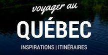 À la découverte du Québec / À la découverte du Québec, ma province, ma ville et surtout, une région chère à mon coeur.