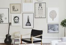 Photo Wall Display Ideas / Need some inspiring picture displays? We've got 'em right here!