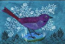 """Bird / by Karina Brandt """"Baba Yaga's Filzzauber"""""""