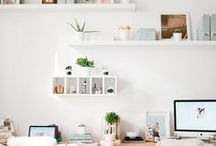 Office Ideas / Photographers need a place to work and creating a beautiful office space is key to remaining organized and inspired.