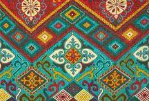 my fabric stash / by Carolyn R Spencer