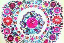 "embroidery / by Karina Brandt ""Baba Yaga's Filzzauber"""