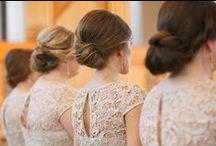 wedding inspiration: blush & gold