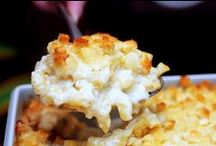 mac and cheese and... / by Heidi Scribner