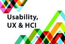 Usability, UX & HCI