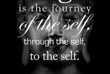 Be Connected / The art of internal connection - from oneself...thru oneself...to oneself and the practice of union - of body mind and soul. The 8th of Patanjali's 8-limbs of yoga - Samadhi. Enlightenment.