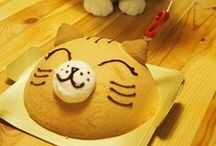 Cat Themed Food / by Natalie: Ozzi Cat.Colour Meow