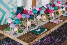 wedding inspiration: geometric