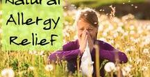 Allergies / Natural allergy relief