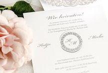 Elegant Wedding / Klassisch elegante Dekoelemente und allerhand Inspirationen, die für zeitlose Akzente bei Eurer Hochzeit sorgen. www.weddix.de/hochzeitsshop/landingpage/hochzeitsstile/hochzeitsstile-klassische-eleganz.html
