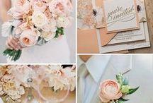 Apricot Wedding / Hochzeit in Apricot - Apricot ist herrlich frisch und versprüht gleichzeitig ein Gefühl von zarter Romantik ❤