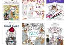 Cats - Colouring Pages & Books / http://ColourMeow.com Cat Colouring Pages and Cat Drawings for Adults and Kids. Fun Cat Therapy. Join the Colouring Club!