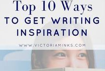 How to Get and Use Ideas / How to find inspiration and refill your writing well when you're feeling stuck or blocked with your novel, or want to start something new, play with new characters in a new story.  Tips on getting creative and generating ideas for fiction.