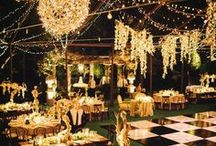 Golden Wedding / Hochzeit in Gold - stilvoll & edel! Lasst Euch hier inspirieren von traumhafter Dekoration und kreativen Hochzeitsideen für Eure Golden Wedding!