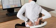 Solutions to Sitting Problems / Relieve and fix discomfort caused by chronic sitting