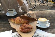 Coffee and food